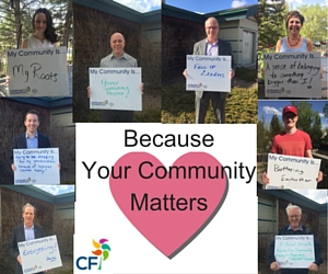 my community matters collage