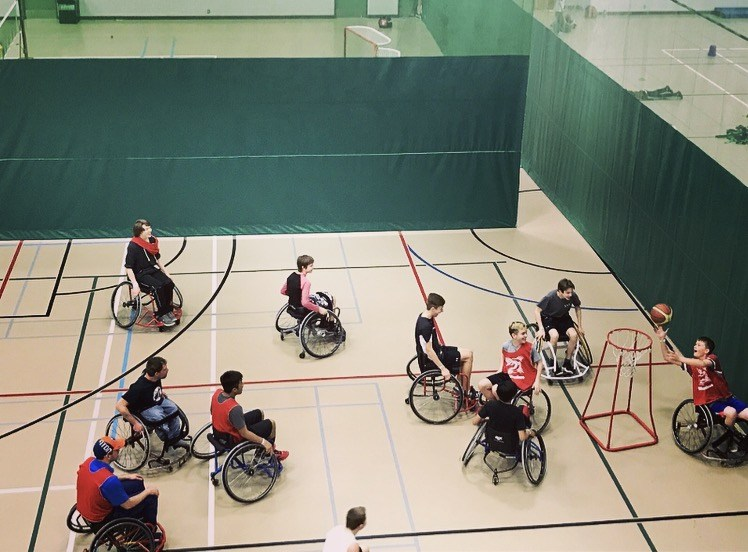 Wheelchair basketball optimized