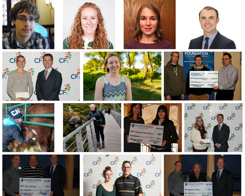 2000 Alberta Summer Games Legacy Fund Recipients Photo Collage
