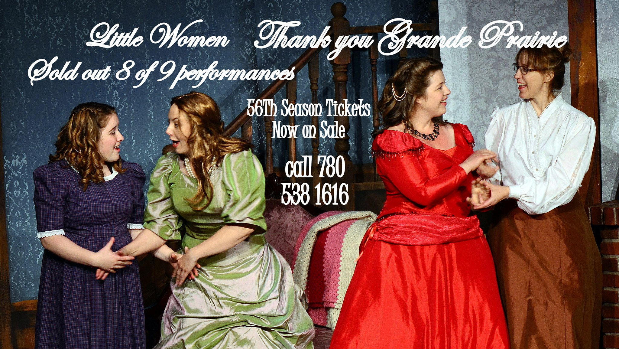 little women thank to community posted on facebook