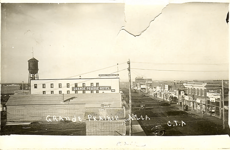 Historical Photo of Grande Prairie