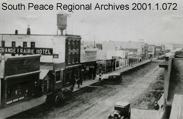 Photo of Downtown Grande Prairie