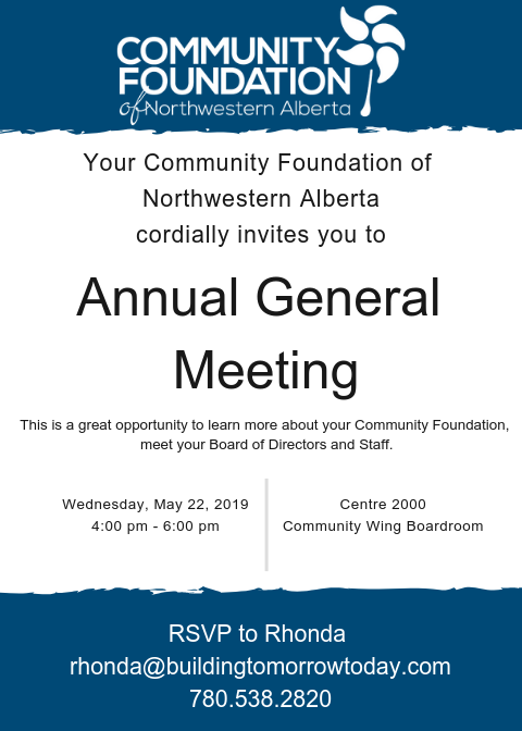 2019 AGM Invitation
